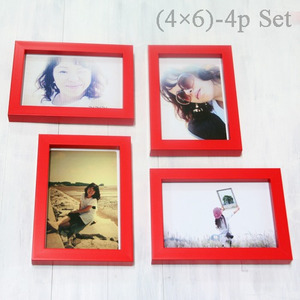 Color Photo Frame (4×6)-4p Set